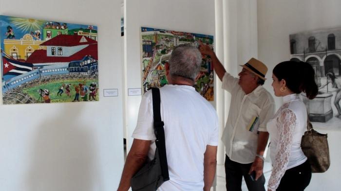 Miradas plásticas a Holguín en su 300 aniversario