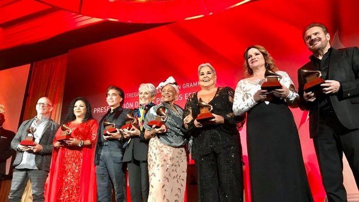 Entregados los Premios a la Excelencia Musical en los Latin Grammy
