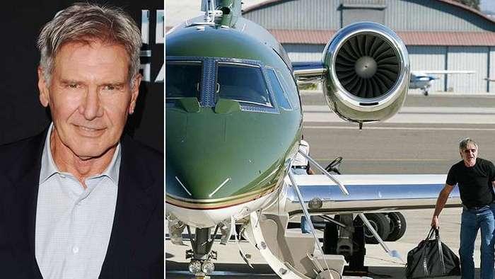 Rodar con Arte: La pasión de Harrison Ford por los aviones