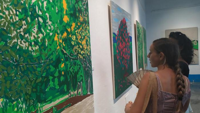 Ana Mosseri ¿Pintando el paisaje?