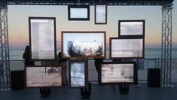 Untitled Art Fair: The sea as the protagonist