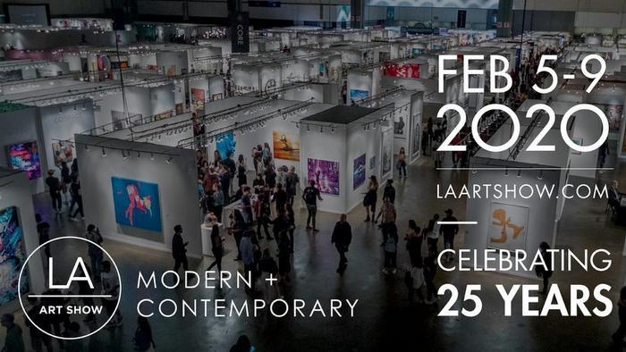 LA Art Show this february 2020