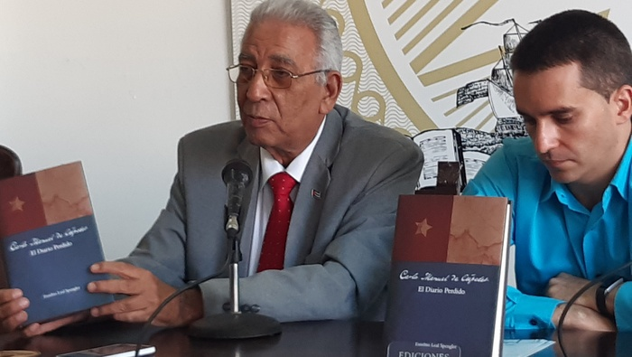 En FIL nueva edición del Diario Perdido de Carlos Manuel de Céspedes