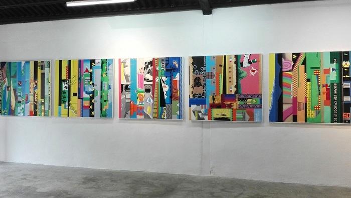 Una temporada con jóvenes pintores en Galería La Nave