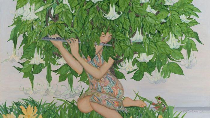 La obra de Cristina Duclos en la web de Ansorena