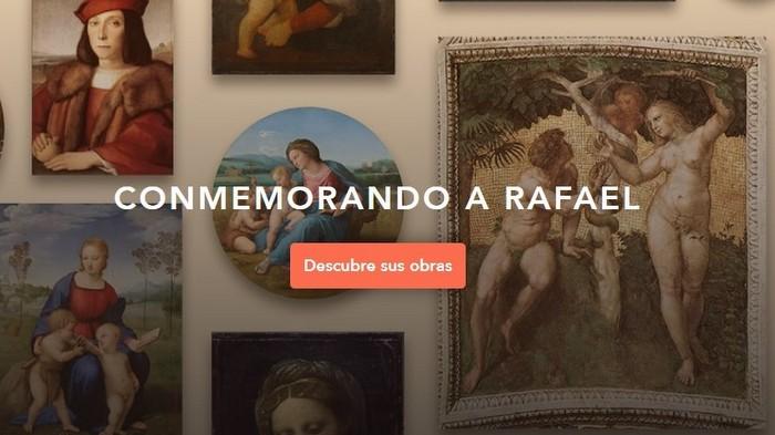 Museo virtual te acerca a la obra de Rafael Sanzio