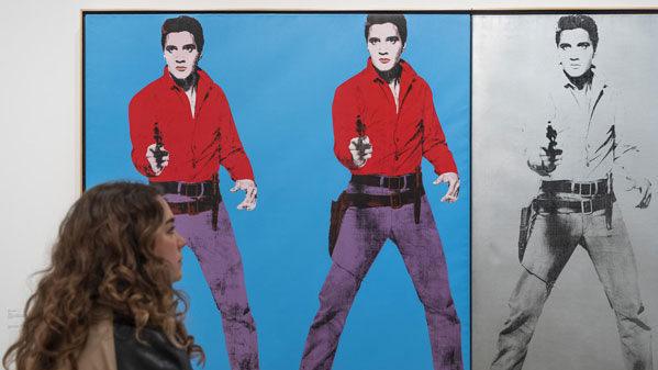 Tate Modern. Free online tour of Andy Warhol
