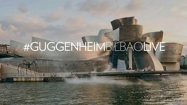 #GuggenheimBilbaoLive: para estar más cerca de ti