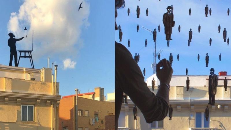 Reto del artista Pejac: ¿arte en tu ventana?