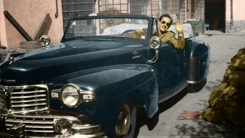Rodar con Arte. Pedro Infante rodó en moto, en auto y también voló