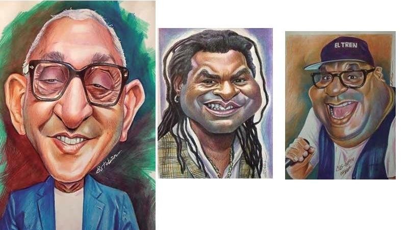 Esteban Isnardi: The official caricaturist of Los Van Van