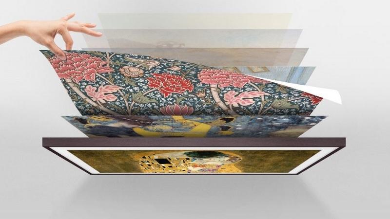 Samsung coloca exclusivas obras de arte en tu salón