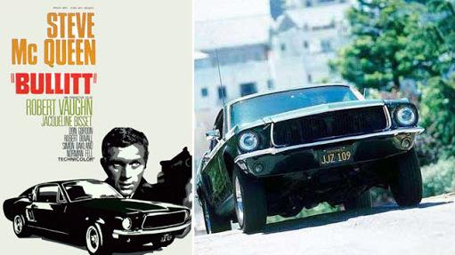 Rodar con Arte. Bullitt, el Ford Mustang de Steve McQueen