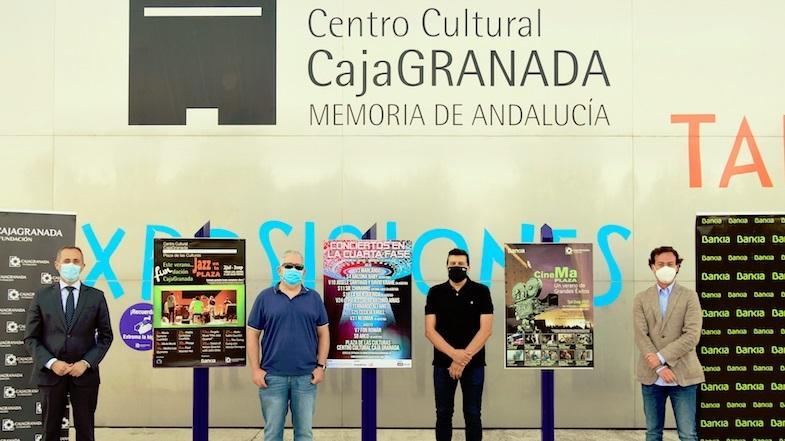 """Granada tendrá """"Conciertos en la cuarta fase"""""""
