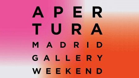 Ya se anuncia Apertura Madrid Gallery Weekend 2020