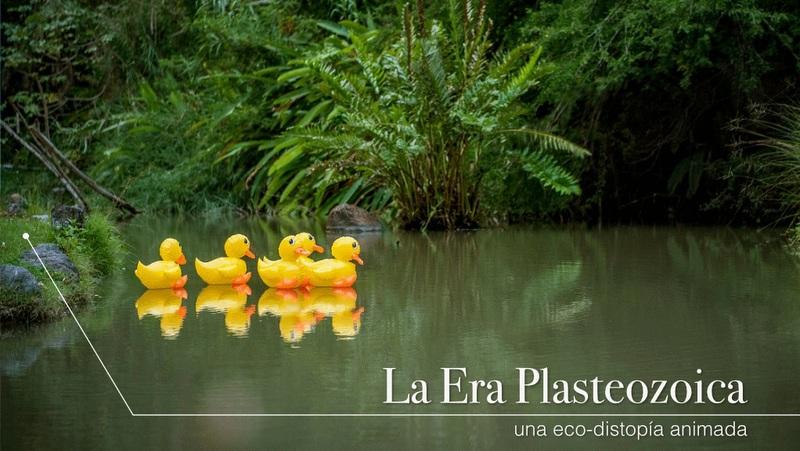"""""""La Era Plasteozoica: una eco-distopía animada"""" en el Día Mundial del Medio Ambiente"""