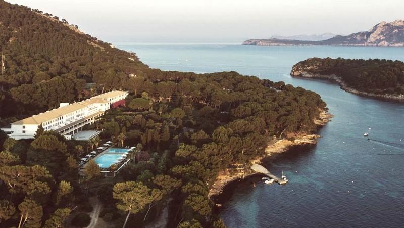 En Mallorca, el hotel preferido por las estrellas