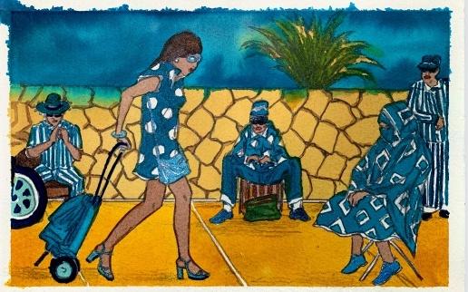 Marcel Dzama: Blue Moon of Morocco