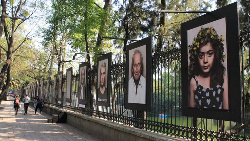 En Ciudad de México arte al aire libre