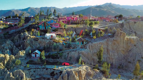 La Paz, a city of heaven
