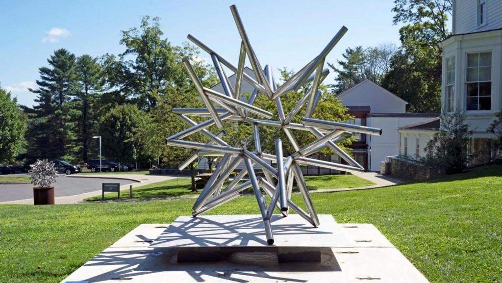 Frank Stella's Stars, A Survey at The Aldrich Contemporary Art Museum