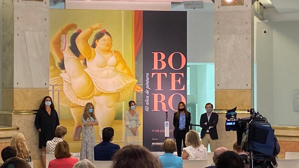 El regreso de Botero a Madrid (+fotos)