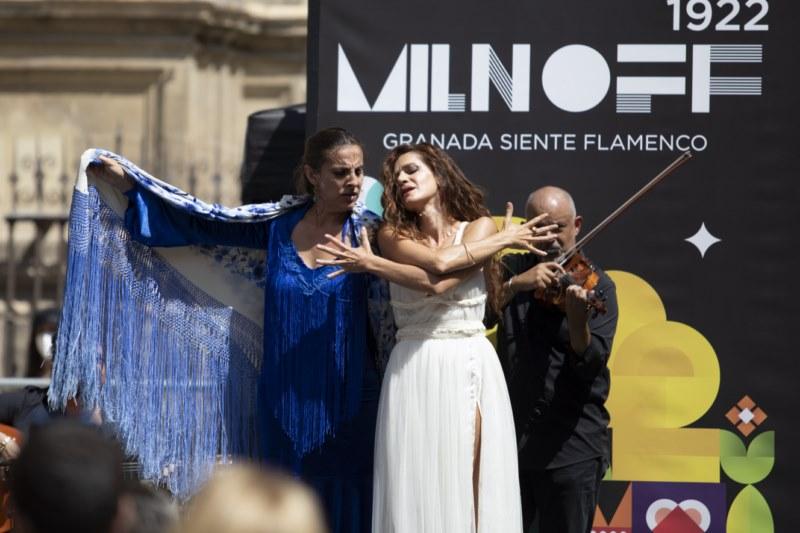 Arte por Excelencias en festival flamenco MILNOFF 1922