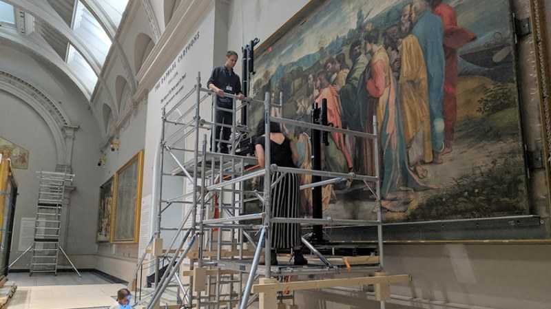 The digitisation of the Raphael Cartoons at the V&A
