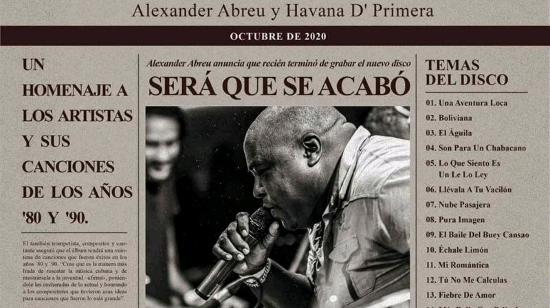 Con Alexander Abreu no se acaba