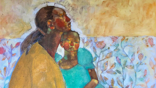 """""""Lost in the Crowd"""". Duo show Olivia Mae Pendergast & Larry Otoo"""