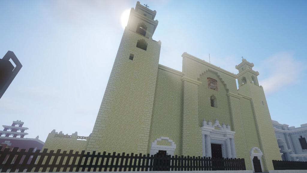 Minecraft al servicio de la arquitectura