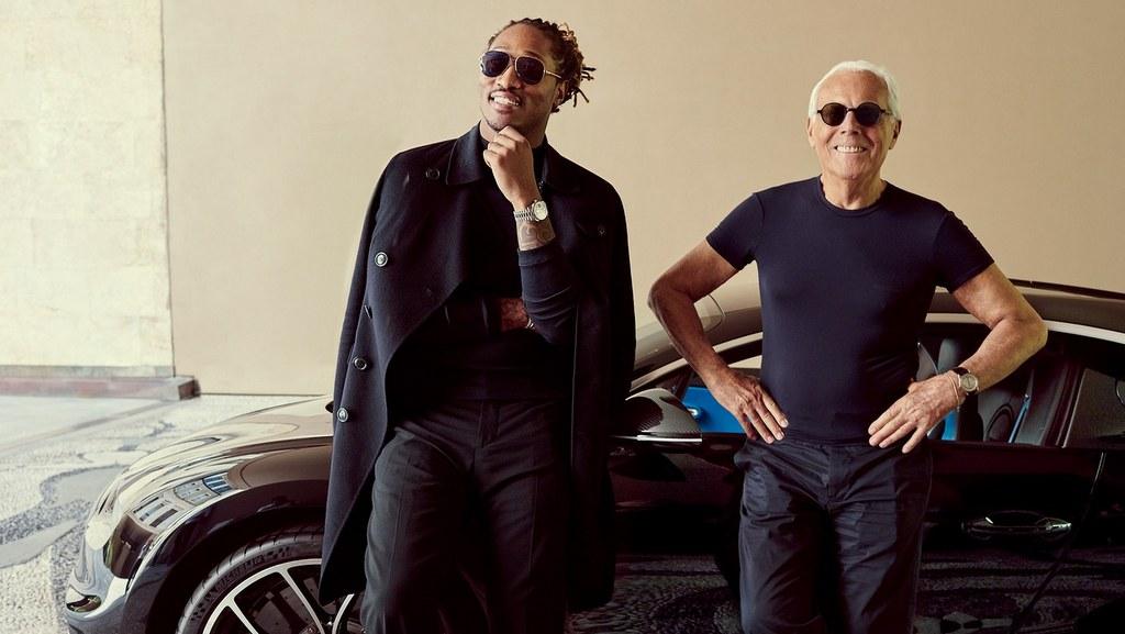 Rodar con Arte. Los Autos y la Moda: de Giorgio Armani para Bugatti