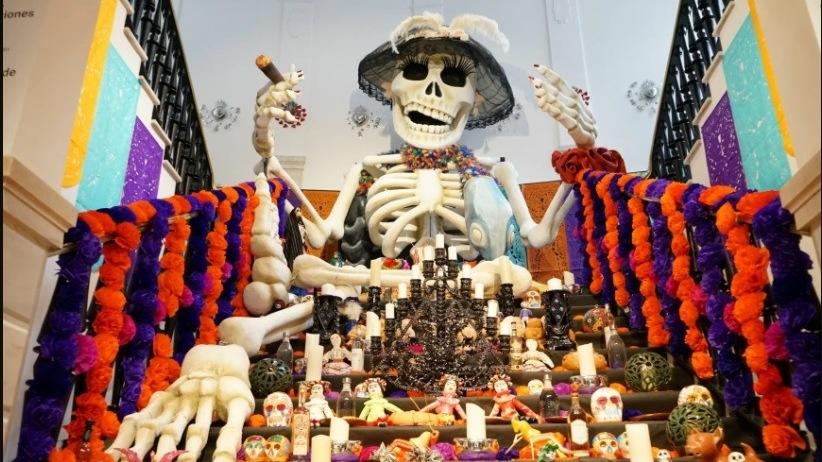 En Madrid también se celebra el Día de Muertos