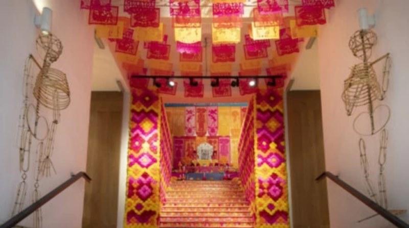 Casa de México despide su Mega-Altar de Muertos