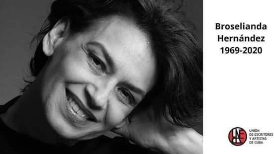 Muere Broselianda y el teatro cubano está de luto