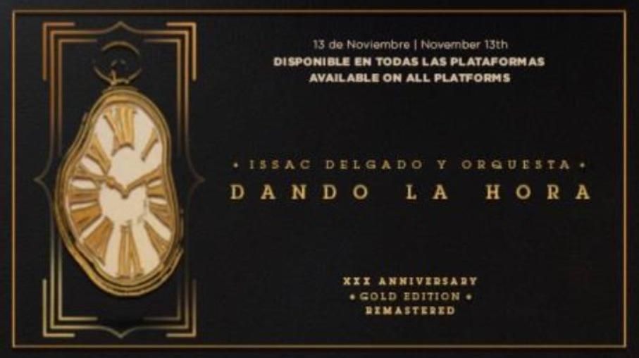 """Issac Delgado celebra """"Dando la Hora"""""""