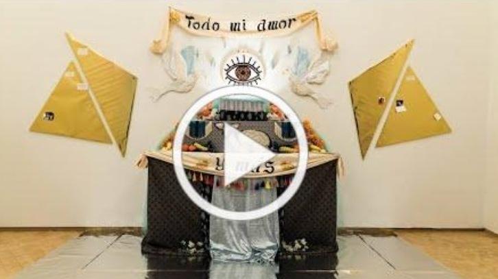 Museo del Barrio. Dia de Muertos altar