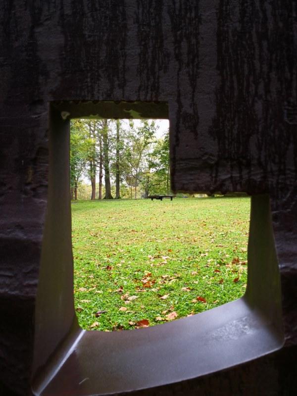 Viviendo el otoño a través de Chillida