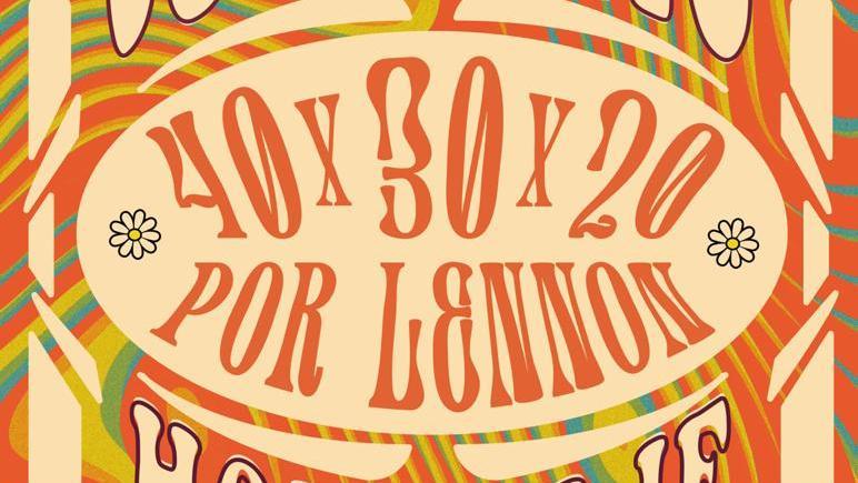 """En La Habana concierto """"40x30x20 por Lennon"""""""