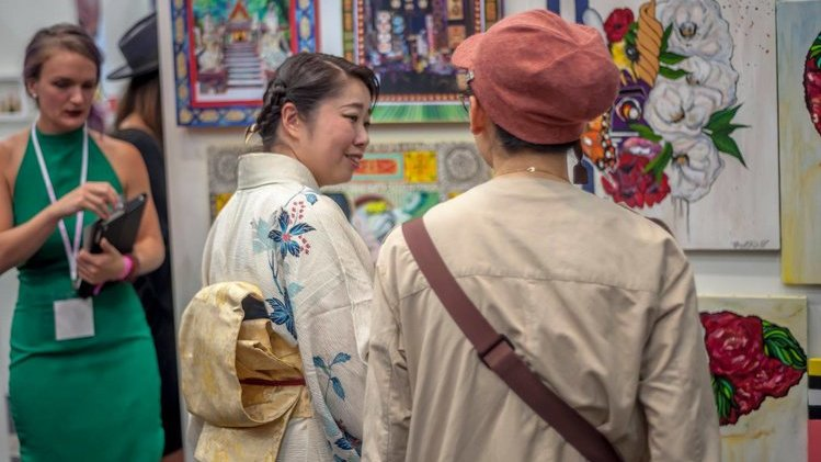 One of Tokyo's biggest Art Fair is back!