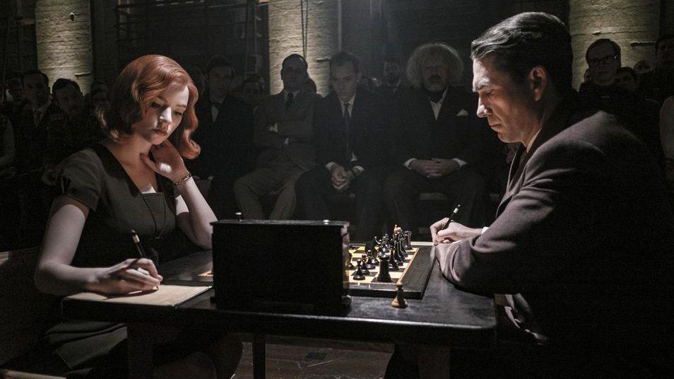 The Queen´s Gambit: La estilización del ajedrez