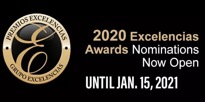 Deadline for Excelencias Awards Nominations Extended thru Jan. 15
