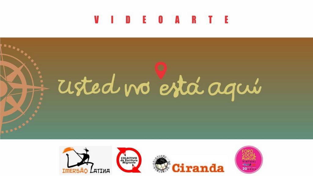 """Video arte """"Usted no está aquí"""" en el Foro Social Mundial"""