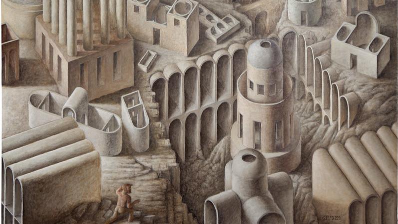 Guillermo Pérez Villalta por los laberintos del arte