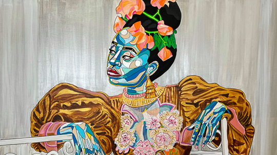 Artsy Online Show. 3 female artists addicted to Africa