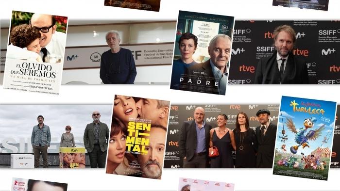 Eight films presented at the San Sebastian Festival bag eighteen Goya Awards