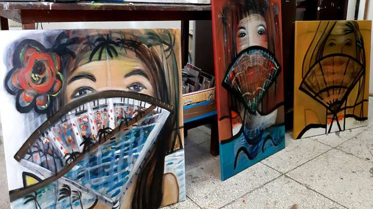 La artista que convirtió el dolor en obra de arte