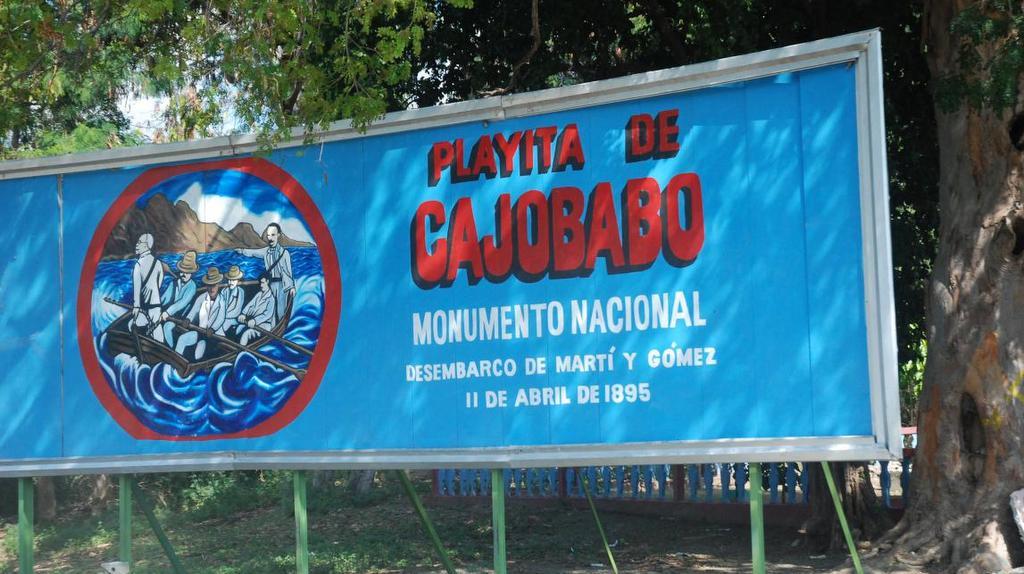Playitas de Cajobabo. Sitio histórico