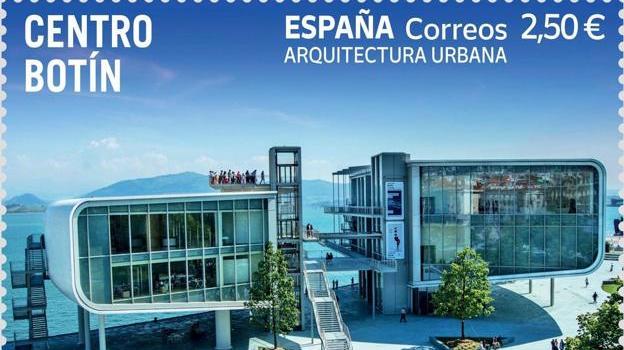 Un sello para el Centro Botín de Santander