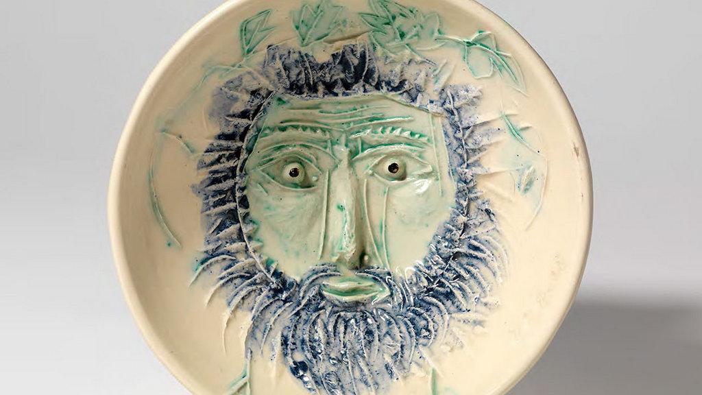 Obras de cerámica con la firma de Picasso